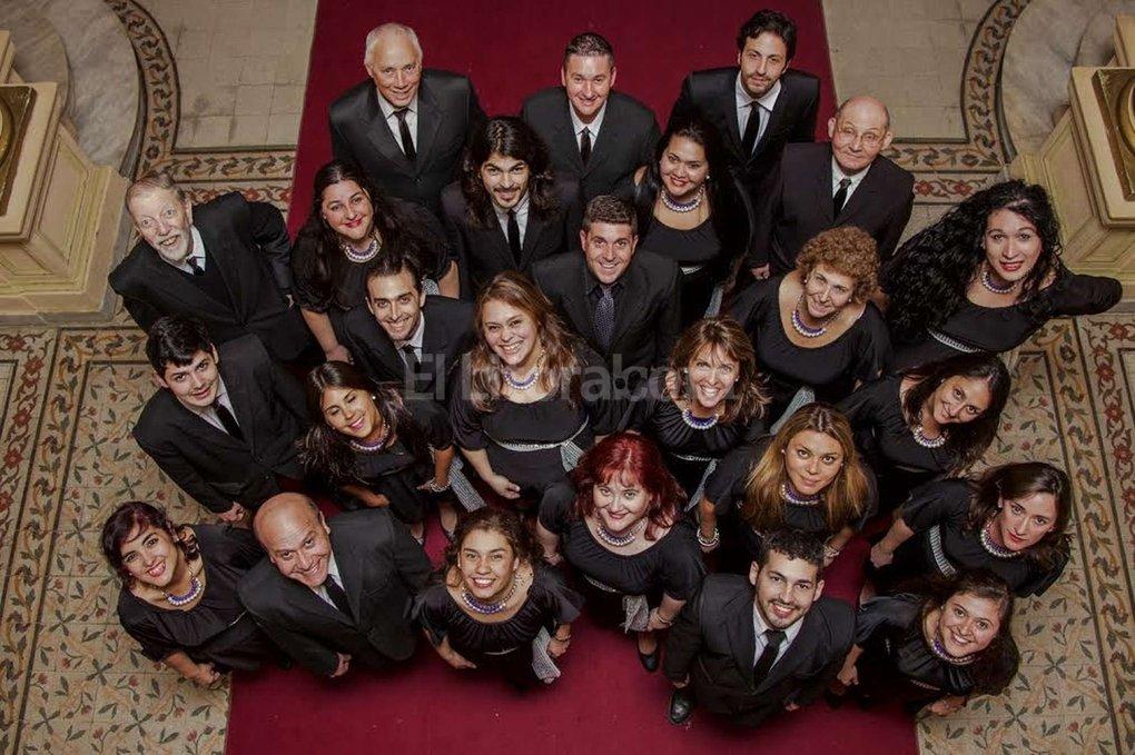 Se trata del coro vocacional e independiente m�s antiguo de la ciudad. Foto:Gentileza Producci�n