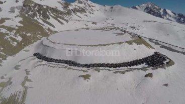 Denuncian que una minera chilena tir� residuos t�xicos en suelo argentino