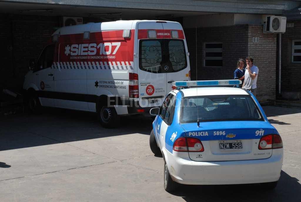 Los heridos fueron trasladados al Cullen Foto:Flavio Raina