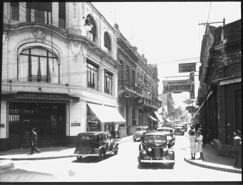 Esta es la sucursal de la tienda Gath & Chaves que estaba en Salta y San Mart�n. Foto:Archivo El Litoral