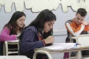 """Aprender: hubo una asistencia de  """"entre el 70 y 75 %"""" en la provincia"""