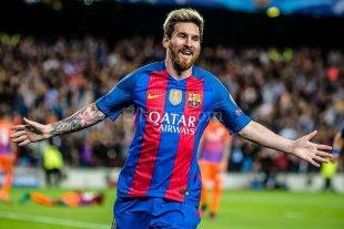 Hat-trick de Messi en la goleada al equipo de Pep Guardiola