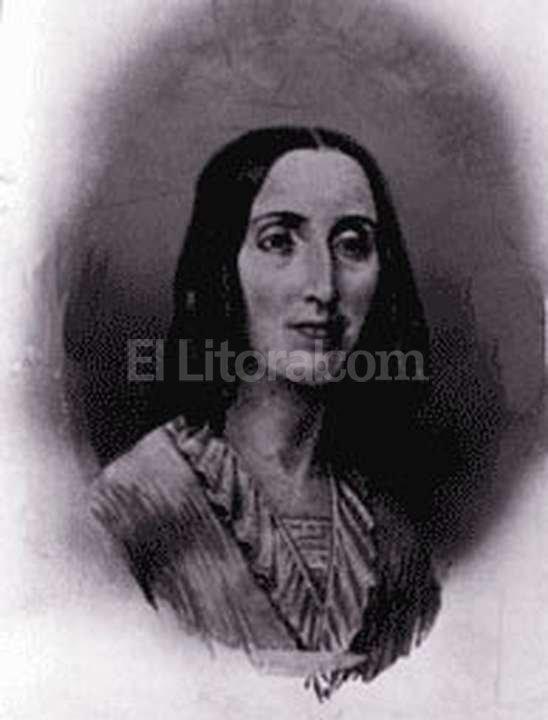 Juana Manuela Gorriti. Foto:Archivo El Litoral