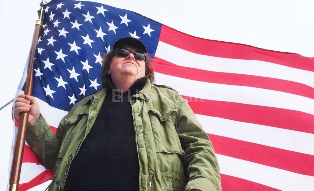 Michael Moore mañana estrena su película sobre Donald Trump