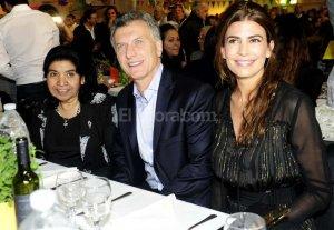 Macri particip� de la cena anual de la Fundaci�n Margarita Barrientos
