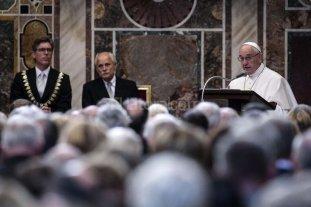 El Papa destac� el valor del di�logo