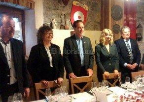 Fascendini encabeza la delegaci�n que desarrolla actividades en Italia