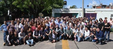 """""""En el sur de Rosario, la gente destaca el trabajo en conjunto por la seguridad y contra el narcotr�fico"""""""