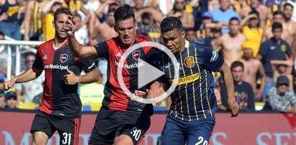 Newell's le ganó a Rosario Central con un gol en tiempo de descuento -