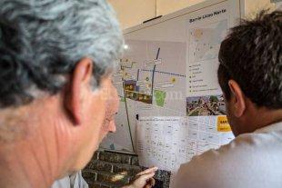 Presentaron el proyecto para extender la red de gas en barrio Liceo Norte