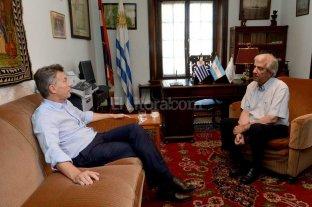 Macri se re�ne con Tabar� V�zquez