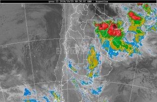 Se mantiene vigente el alerta por tormentas para Santa Fe