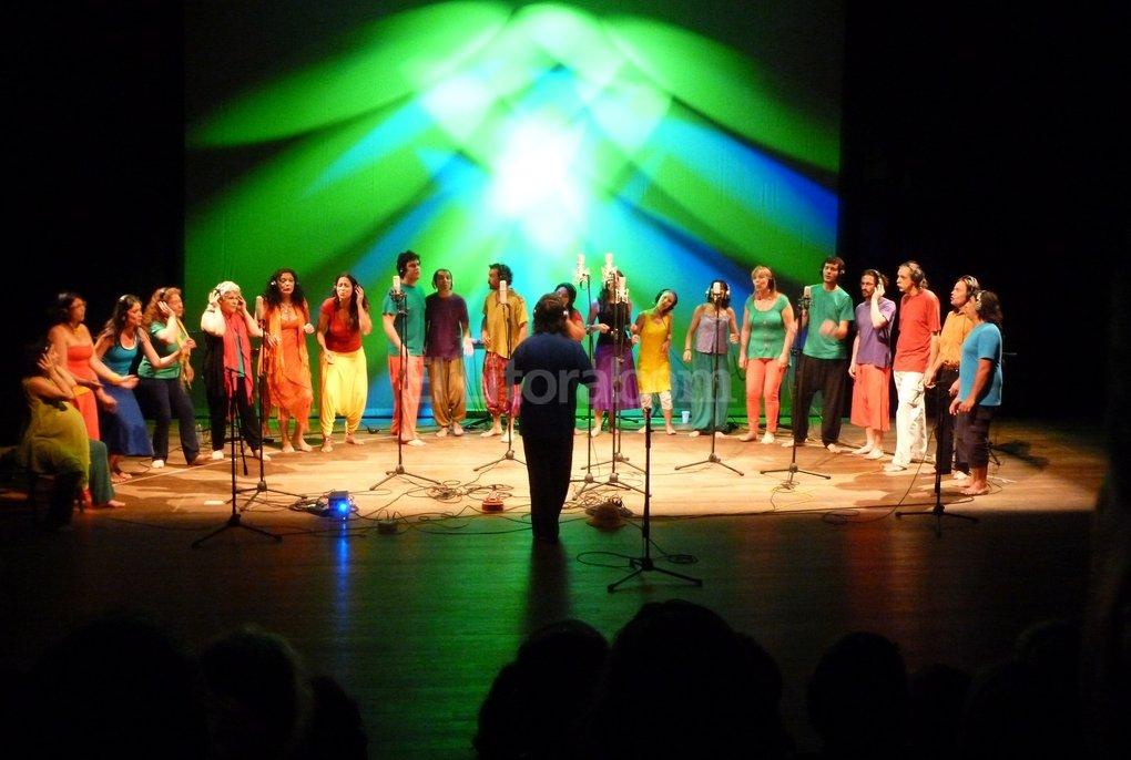 La agrupación Oigo Voces, de Uruguay. Gentileza Producción
