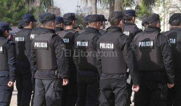 Pagan la tercera y última cuota de los uniformes a fuerzas de seguridad