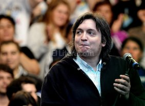 M�ximo encabezar� un homenaje a N�stor Kirchner