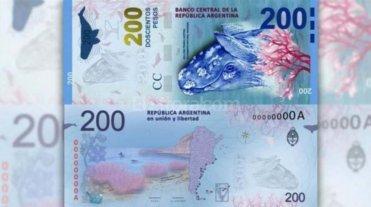 Presentan en Puerto Madryn el billete de 200 pesos
