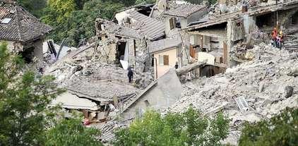 Dos fuertes sismos vuelven a golpear a Italia