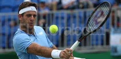 Nueva victoria de Del Potro, que avanza en el ATP de Basilea -
