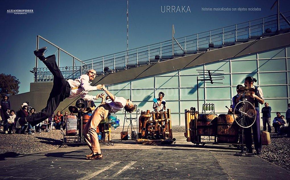 """""""Kutumpra"""", de la compañía Urraka, se presentará la noche inaugural en el teatro Municipal. Gentileza Producción"""