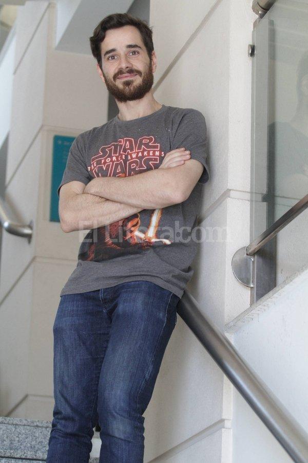 Ranzani en el Foro Cultural UNL, la casa del elenco que liderará durante los próximos meses. Luis Cetraro