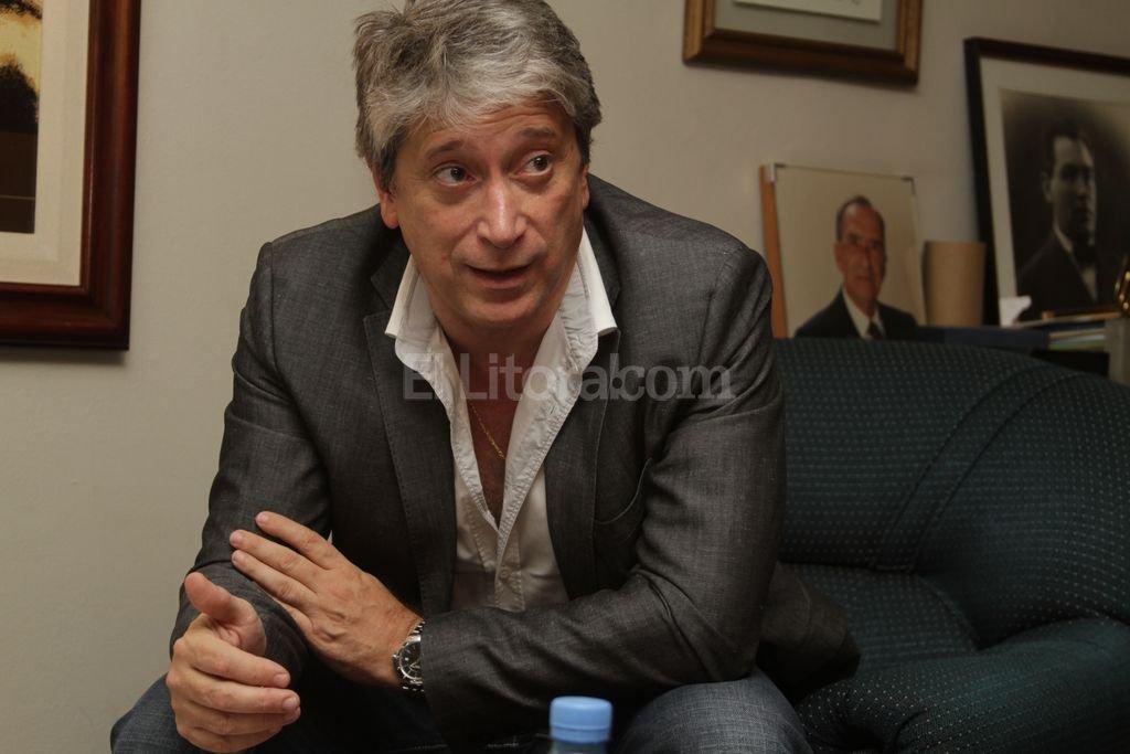 Dr. Carlos Daniel Felice, presidente de UTTA. Archivo El Litoral