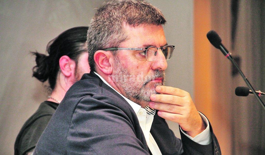 Mario Tascon, periodista español especializado en medios digitales. Foto:Gentileza: Eliseo Rocca (UAI).