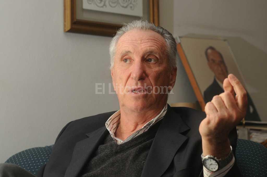 Luis Hilbert propuso a cuatro reconocidos empresarios locales como fiadores de la libertad de Baldomir, e incluso ofreció su casa como garantía. <br /> <strong>Foto:</strong> Foto de archivo. Flavio Raina