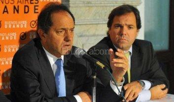 Prohibieron salir del país al ex jefe de gabinete de Scioli - Pérez junto al ex gobernador de Buenos Aires