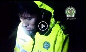 Video: así fue el rescate de un sobreviviente de la tragedia de Chapecoense