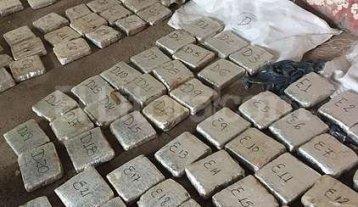 Secuestran más de 150 kilos de marihuana -  -