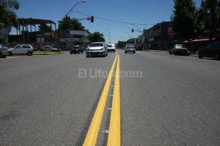 El Municipio trabaja en la demarcación vial de Aristóbulo del Valle