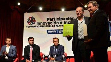 Farías representó a la provincia en la inauguración del Congreso de Participación Ciudadana -