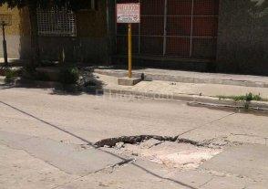 Preocupación por un hundimiento en Barranquitas