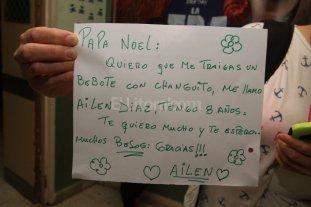 Niños del Iturraspe le escribieron sus cartas a Papá Noel
