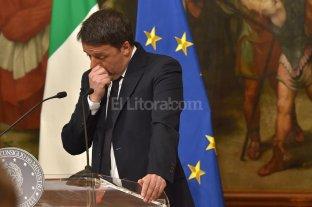 Renzi anunció su renuncia tras perder el referéndum constitucional