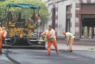 Terminan los trabajos de bacheo en calle San Jerónimo -  -