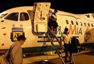 """El avión de LaMia que llevó a la Selección Argentina tenía """"poco"""" combustible"""