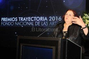 Chiqui González, distinguida por el Fondo Nacional de las Artes