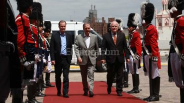 Lifschitz se reunió con Schiaretti y Bordet en Córdoba