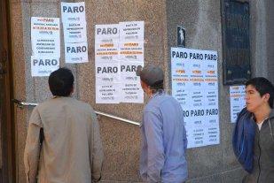 Bancarios definen el lunes un paro de 24 horas