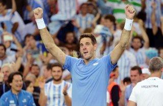 Del Potro ganó los dos mejores partidos de tenis del año
