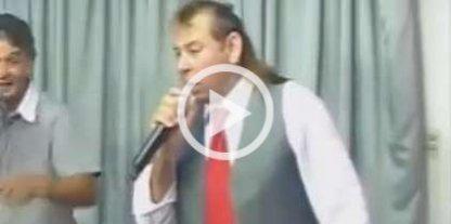 Murió en un accidente de tránsito el cantante Fabián Show