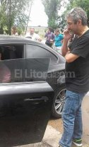 """Ricardo y el """"Chino"""" Darín varados en Empalme Villa Constitución"""