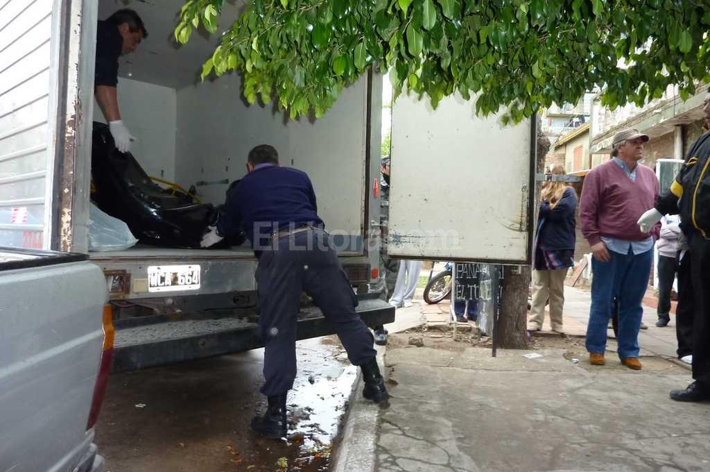 Una cuchilla fuera de control. Doble crimen en barrio El Pozo, año 2009 / Archivo El Litoral / Danilo Chiapello