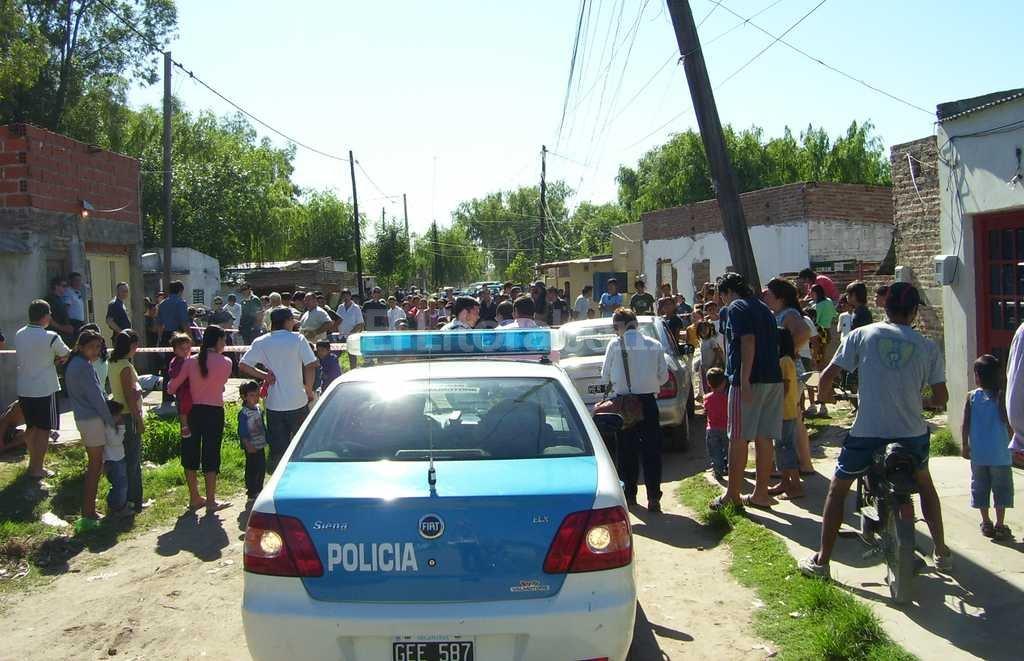 Brutal crimen en barrio San Lorenzo, año 2009. / Archivo El Litoral / Danilo Chiapello