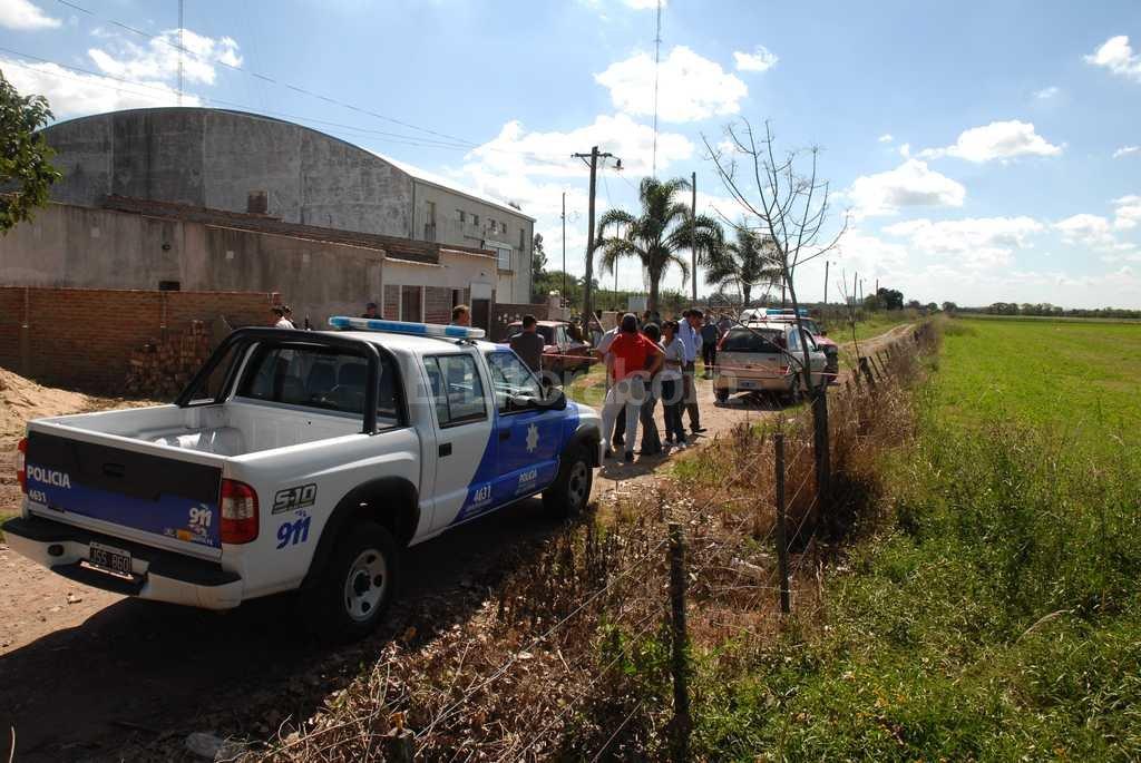 Doble crimen en Recreo, año 2012 / Archivo El Litoral / Flavio Raina