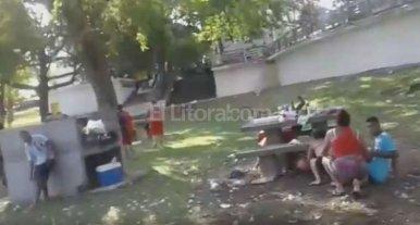 Video: Así fue el tiroteo en el Parque del Sur