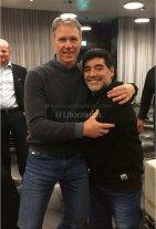 Maradona apoya el mundial de 48 equipos