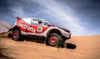 El buggy eléctrico que causa furor en el Dakar