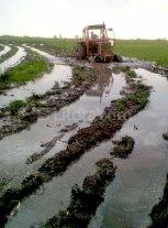 Tambos de Las Colonias arrasados por el agua